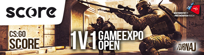 SCORE CS:GO 1v1 AIM GAME EXPO Open