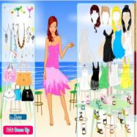 Summer party dress up game